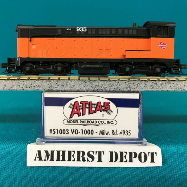 51003 Milwaukee Rd Atlas N Scale VO-1000 DCC Ready NIB