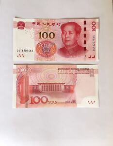 2015-CHINA-100-YUAN-MAO-CHINESE-CURRENCY-RMB-MONEY-BANKNOTE-CIRCULATE-NM-MINT