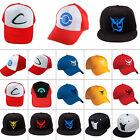 Pokemon Go Team Mystic Instinct Valor /Ash Ketchum Running Cap Snapback Sun Hat