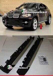 Set-pedane-gradini-step-pradellini-laterali-TUNING-BMW-X6-E71-anno-2008-gt-2014