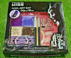 Kiss Disney Good VS Evil Nail Art Kit Hedge of Thorns ...