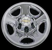 Set Of 4 Chevy 1500 6 Lug 16 Chrome Wheel Skins Rim Simulators Hub Caps Covers