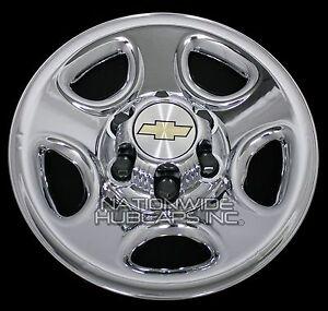 Set Of 4 Chevy 1500 6 Lug 16 Quot Chrome Wheel Skins Rim