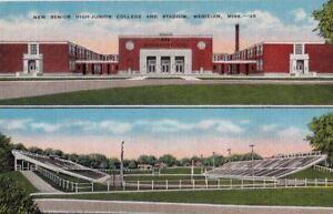 Postcard-New-Senior-High-Junior-College-Stadium-Meridian-MS