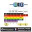 91R Couche Métal 1//4W 1/% 50 ou 100pcs Lot de 20 Résistances 91 Ohms