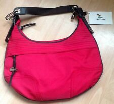 Lacoste Handbag Red Shoulder Bag Designer Brand Authentic Brand New With Tags
