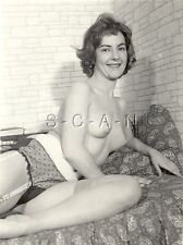 Original Vintage 1940s-60s Desnudo Rp- Reducida Cabello- Sheer Panties-