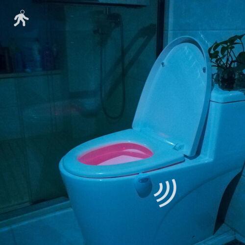 5CE6 1W Toilet Night Light Toilet Lights Lightbowl USB Charging Random Color