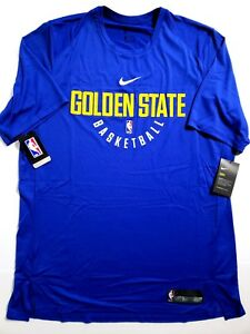 Nike Dry NBA Golden State Warriors Practice Jersey Shirt Mens SZ XL ... e4bc59fd7