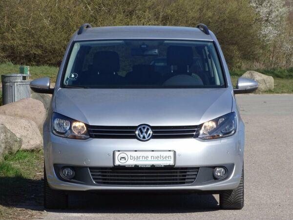 VW Touran 2,0 TDi 140 Comfortline DSG BMT 7p - billede 1