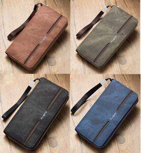 804de3e44 US FAST Men Leather Business Clutch Bag Handbag Wallet Purse Phone ...