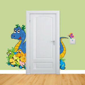 DIY Kids Bedroom Dinosaur Baby 3D Wall Sticker Vinyl Decal