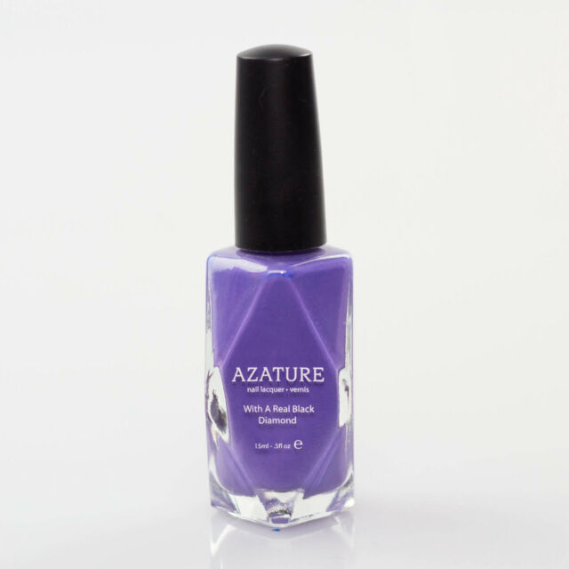 Azature Black Diamond Nail Lacquer Light Lilac Brand New And Authentic