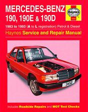 Haynes 5633 workshop repair manual guide vw golf petrol diesel 09 3450 haynes mercedes benz 190 190e 190d 1983 1993 a fandeluxe Choice Image