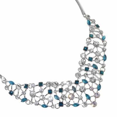 "Sale Fabulous Fashion Jewellery Mid-Length 22/"" Black Neoprene Rubber Neckla..."