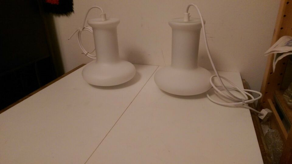 Holmegaard, Hvidt opalglas, hængelampe