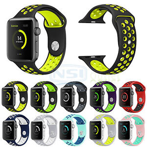 Replacement Silicone Nike Sports Strap For Apple Watch Band Series 2 1 /1121859