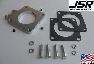 86-93 Mustang GT /& LX 5.0 Throttle Body EGR Spacer Delete Plate Kit 1//2in X 65mm