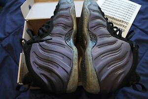246282d11cbc0 Image is loading Nike-Air-Foamposite-One-Eggplant-Purple-2009-Release-