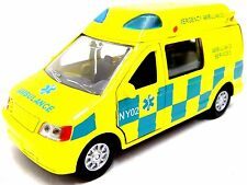 Toy Ambulance + Light & Sound Emergency Response Vehicle Die Cast Toy Ambulance