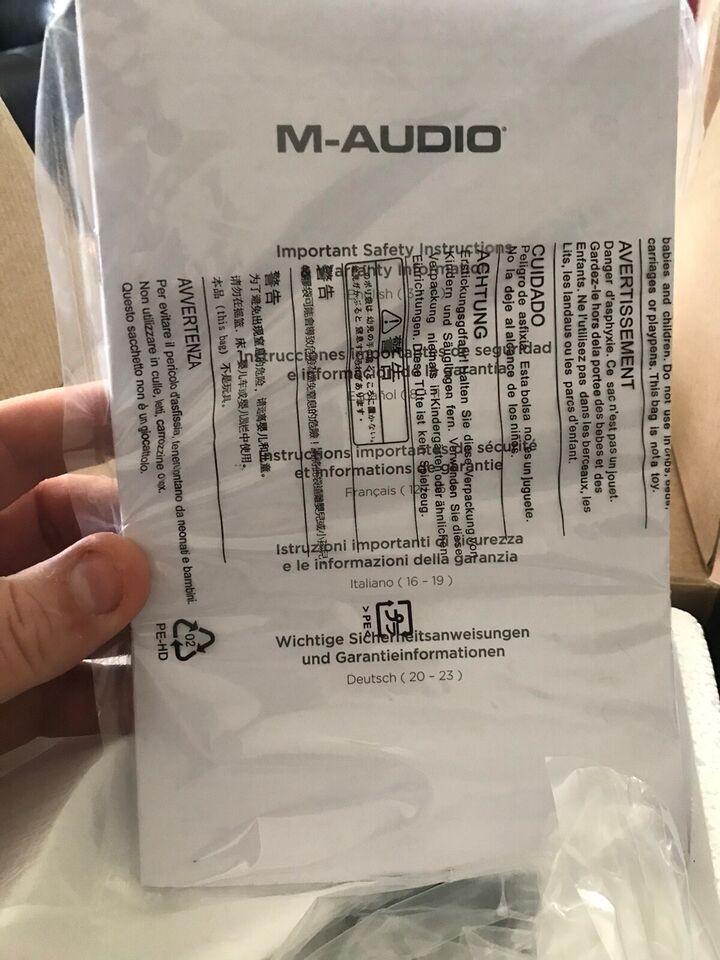 Usb lydkort/interface , M-audio Air hub