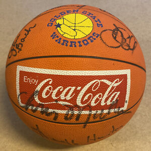 TEAM SIGNED AUTOGRAPHED GOLDEN STATE WARRIOR BASKETBALL CHRIS MULLIN NBA AUTO
