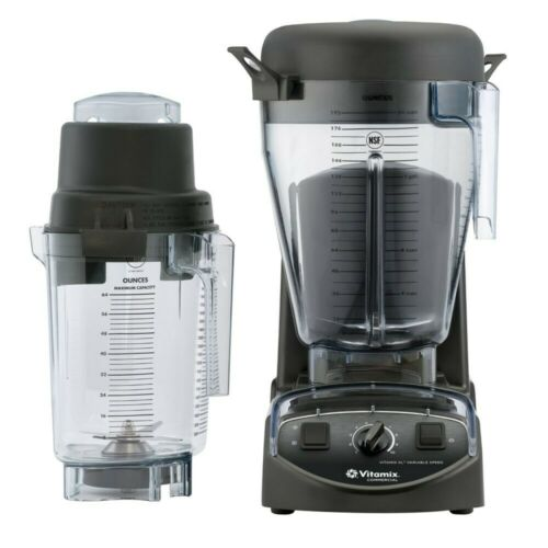 NEW Vitamix 5201 XL Variable Speed Blender System incl/1.5 gal & 64 oz pitchers!  C41vF