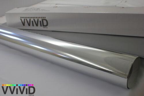Chrome Silver Vinyl Decal Sticker Roll 5ftx13ft Air Release Car Wrap Film CCR5M