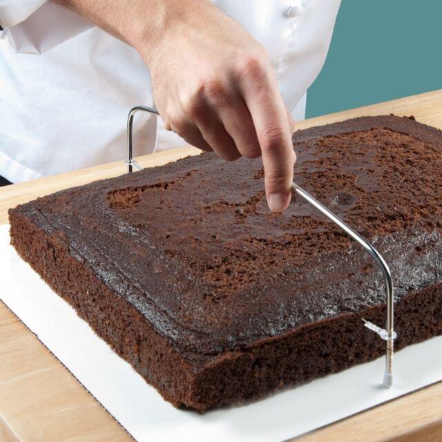 SCI Adjustable Wire Cake Slicer - Leveler Trimmer - Cake Decorating Dream