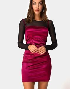 MOTEL-ROCKS-Cecile-Slip-Dress-in-Satin-Burgundy-MR51-2