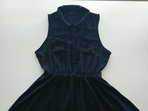 Women's blue/navy  Miso dress size UK 14, Eur 42, USA 10