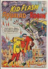 Brave and the Bold #54 DC Comic 1964, Kid Flash Aqualad Robin Origin Teen Titans