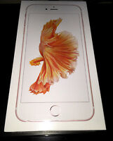 (brand New) Apple Iphone 6s Plus 128gb Rose Gold Gsm Smartphone Factory Unlocked