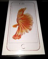 (brand New) Apple Iphone 6s Plus 16gb Rose Gold Gsm Smartphone Factory Unlocked
