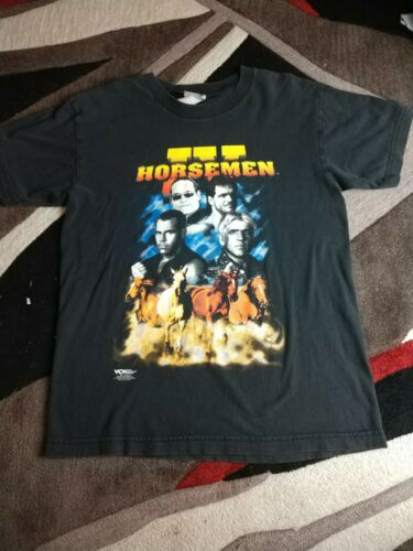 Rare VTG. 98' WCW The 4 Horsemen T-Shirt Ric Flair
