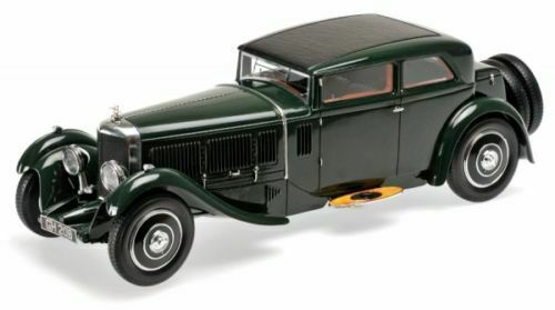 Minichamps 1 18 1930 velocidad de Bentley seis Córcega.. British Racing verde