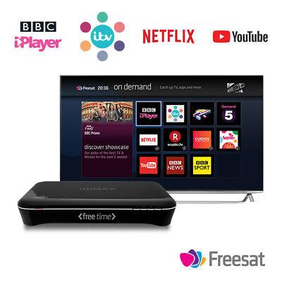 Humax HDR-1000S Freesat HD Smart Digital TV Receiver with Wi-Fi