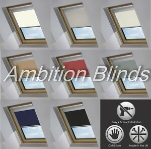 BLACKOUT-SKYLIGHT-ROLLER-BLINDS-FOR-VELUX-ROOF-WINDOWS-EVERY-SIZE-AND-COLOUR