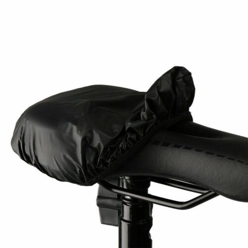 2* Bicycle Saddle Bike Seat Outdoor Rain Cover Dust Resist Protection Waterproof