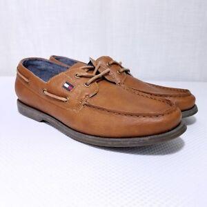 Tommy Hilfiger Aldez Boat Shoes Faux