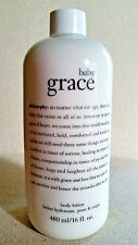 Philosophy Baby Grace Body Lotion Cream Full Size 16fl oz NEW * Always Authentic