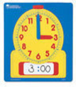 Learning-Resources-Write-on-Wipe-Off-Dry-Erase-Demonstration-Clock-LER-0573