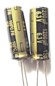 3300uf 6.3v 105C Low ESR Size 12.5mmx20mm Panasonic EEUFM0J332  x10pcs