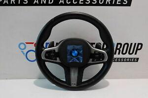 BMW-M-SPORTS-Volant-Cuir-5-039-G30-G31-G38-Shift-Pagaies-32308008179