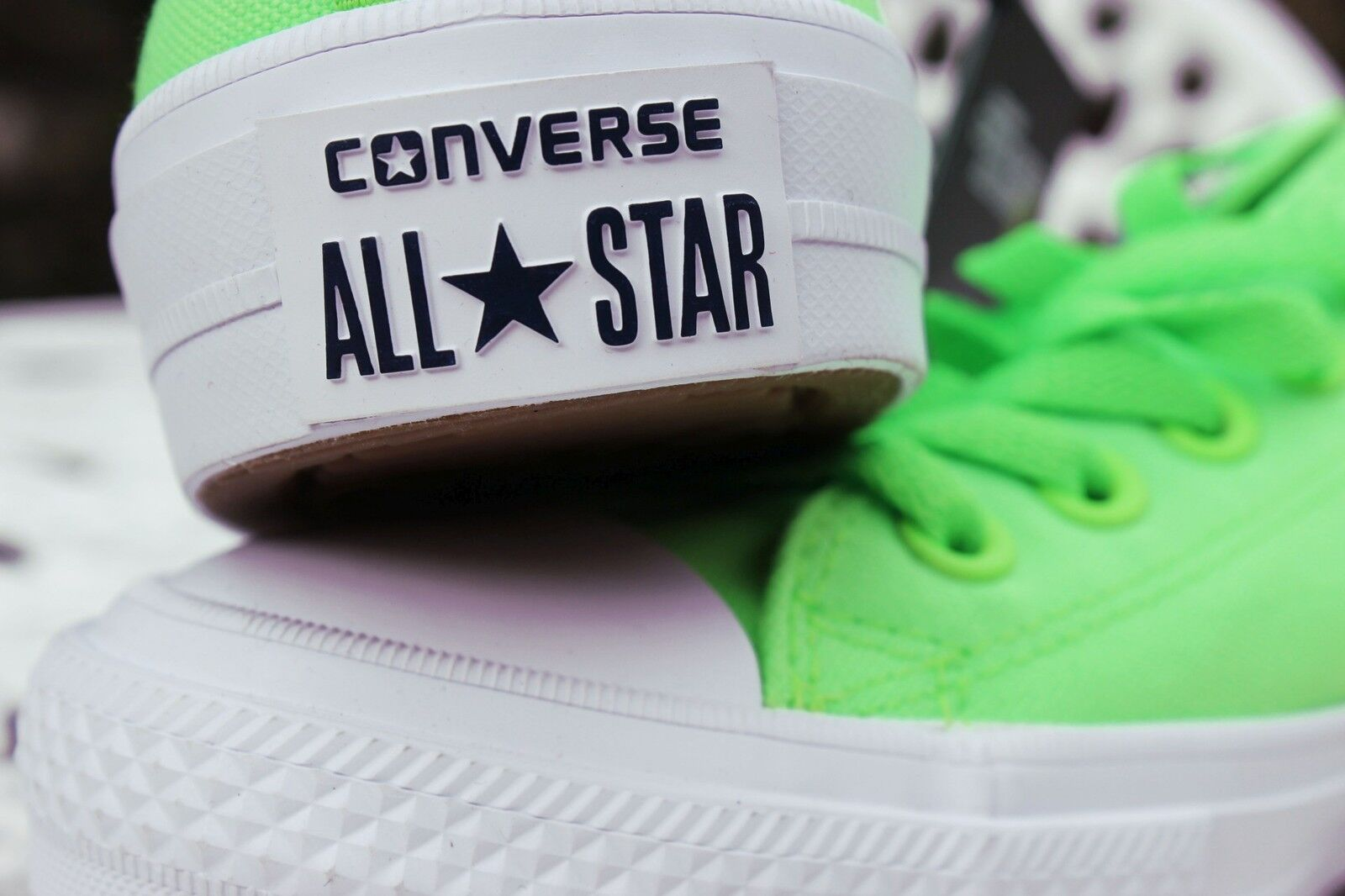 Converse Chuck Taylor All Signature Star Signature All Lunarlon II 2 Niedrig Unisex Green 5.5 UK 8d4ca5