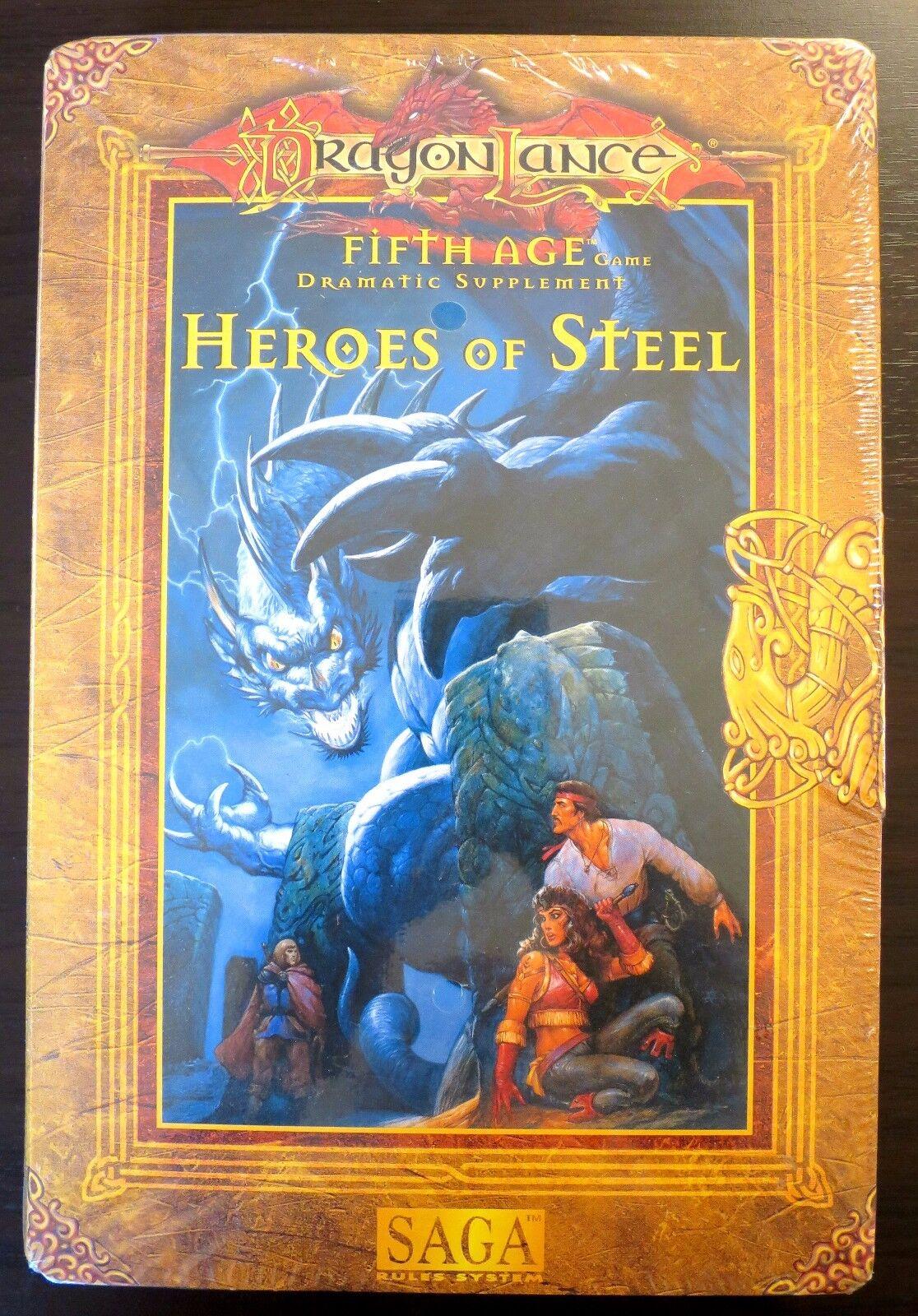 Dragonlance Heroes of Steel Box Set NEW