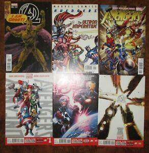New-Avengers-MARVEL-Lot-Ultron-Imperative-Uncanny-1-Hickman-Bendis-Groot-Variant