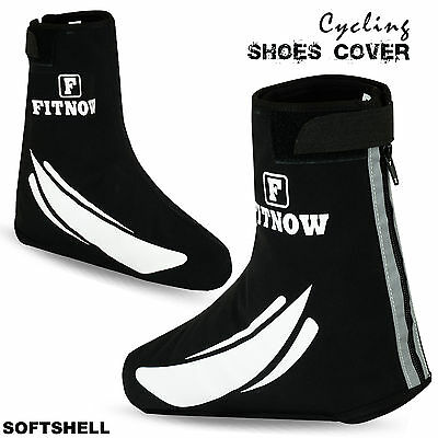 Details about  /Cycling Shoe Cover Waterproof Windproof Outdoor Bicycle Overshoe Softshell Black