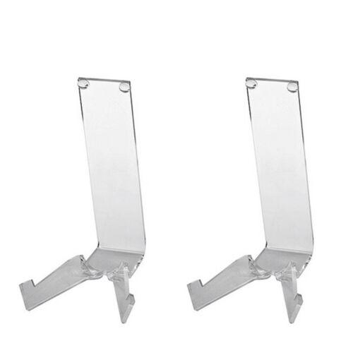 Plexiglas 2 Stück transparent H 14 cm Tellerständer Größe 2