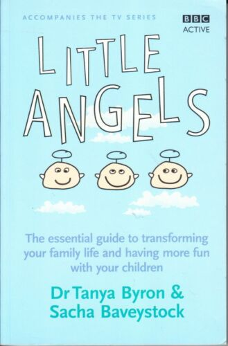 1 of 1 - LITTLE ANGELS - TRANSFORM FAMILY LIFE FOR FUN WITH CHILDREN - BYRON RAISING BOYS